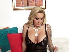 Amazing, Anal Sex, Big Cock, Big Tits, Blonde, Blowjob, Bobcat, Clamp, Couple, Cowgirl,