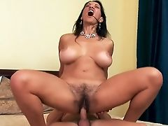 Bedroom, Big Tits, Brunette, Dick, Friend, Hairy, Hardcore, Housewife, Mature, MILF,