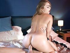 Ass, Babe, Bedroom, Big Cock, Big Tits, Blonde, Blowjob, Cum On Ass, Cumshot, Doggystyle,