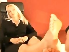 Amateur, Babe, Blonde, Foot Fetish, MILF, Mistress, POV,