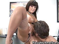 Anal Sex, Big Tits, Blowjob, Brunette, Cunnilingus, Hardcore, HD, Lingerie, Lisa Ann, MILF,