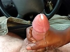 African, Amateur, Car, Cumshot, Handjob, HD, Interracial,