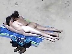 Amatoriale, In Spiaggia, Tette Grosse, Coppia, Sega, Outdoor, Voyeur,