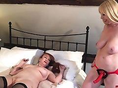 British, Girlfriend, Lesbian, Mature, Sex Toys,