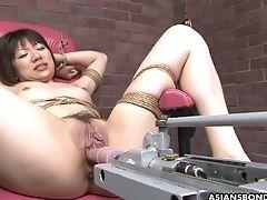 BDSM, Bondage, Boobless, Cunt, Dildo, Ethnic, Hairy, HD, Japanese, Moaning,