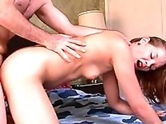 Bedroom, Boobless, Brunette, Close Up, Cowgirl, Dick, Doggystyle, Hardcore, HD, Piercing,