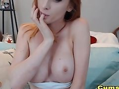 Ass, Babe, Freckled, Fucking, Model, Pussy, Redhead, Solo, Webcam,